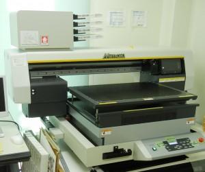 小物の販促物制作向けに導入した「UJF-6042」