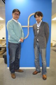 岡本幸憲氏(左)と近藤寛一氏