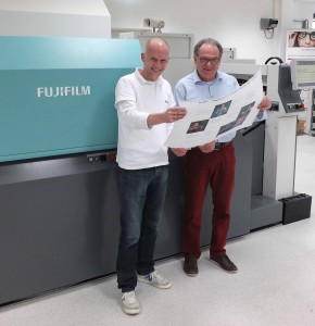 ヘニング・ローズCEO(左)とマネージングディレクターのインゴ・ヴェグナー氏(右)