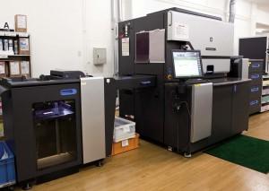 同社が導入したHP Indigo 7600 Digital Press