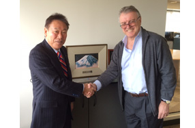 CCL社CEO・Geoff Martin氏とFFGSの吉田会長