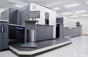 厚紙対応のHP Indigo 30000 デジタル印刷機