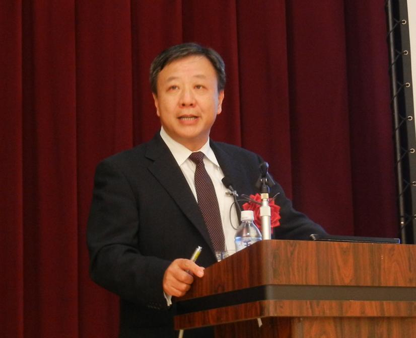 北京印刷学院副学長の蒲嘉陵氏による記念講演会