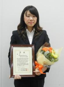 代表候補に選ばれた早瀬真夏さん(亜細亜印刷)