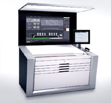 プライムファイア106や新世代スピードマスター印刷機の中核となるプリネクトプレスセンターXL 2印刷機制御ステーション