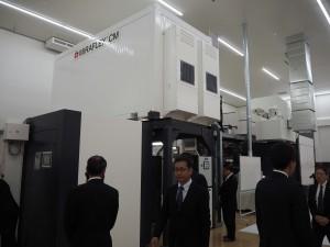導入したCI型フレキソ印刷機「MIRAFLEX CM」