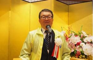 歓迎挨拶を述べる岩手大会の熊谷運営委員長