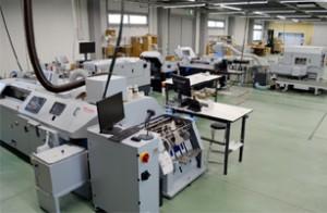 栄光第二工場に設置されたホリゾンのスマートバインディングシステム