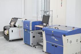 GCC社のレーザー加工機器