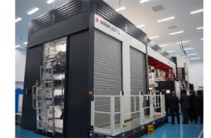 CI型水性フレキソ印刷機ミラフレックスCL9C