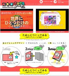 きせかえノート.com