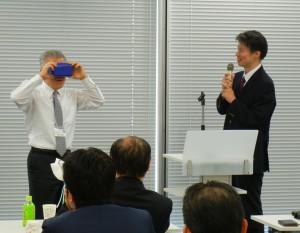 ODP研究会で制作した3Dゴーグル