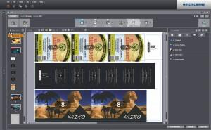 バーサファイアシリーズ向けプリネクトDFE 2018 -お客様からの強い要望により、複数の絵柄を合成して表示する最新のモンタージュエディターが追加されました。