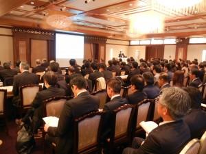 経済産業省コンテンツ産業課・山田課長による講演会もおこなわれた