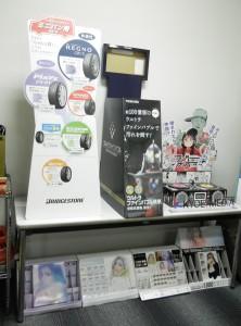 共栄メディアで制作しているパッケージやPOP、ディスプレイ関連の一例