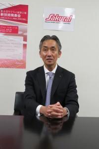桜井隆太社長