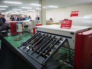 栄進堂印刷の刷版部門
