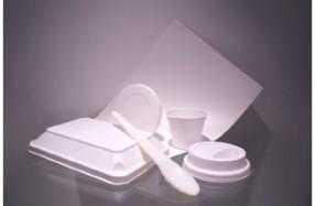 使い捨て容器等への用途を見込む生分解性LIMEX