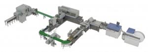 Smart Binding System (hunkeler UW-6、CS6-HS、Horizon デジタル印刷向け2 点式紙折機 AFV-566DF、折丁ブロック集積装置 BBS-40、本身給冊装置 BBF-480、4 クランプ無線綴機 BQ-480、バリアブル三方断裁機 HT-1000V)