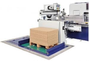 多段積み前方給紙装置