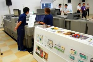 2台のデジタル印刷機で28Jobをこなした(デジタル印刷システム バーサファイアEV/EP)