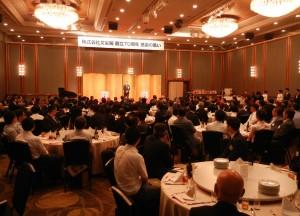 約160人が参列した創立70周年感謝の集い