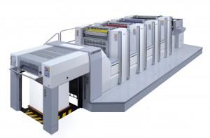四六半裁4色オフセット印刷機OL-480SD