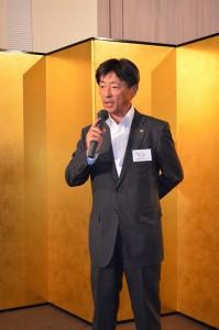 新会長の西川誠一氏