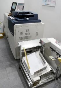 オフライン型のデジタル印刷機除電システム