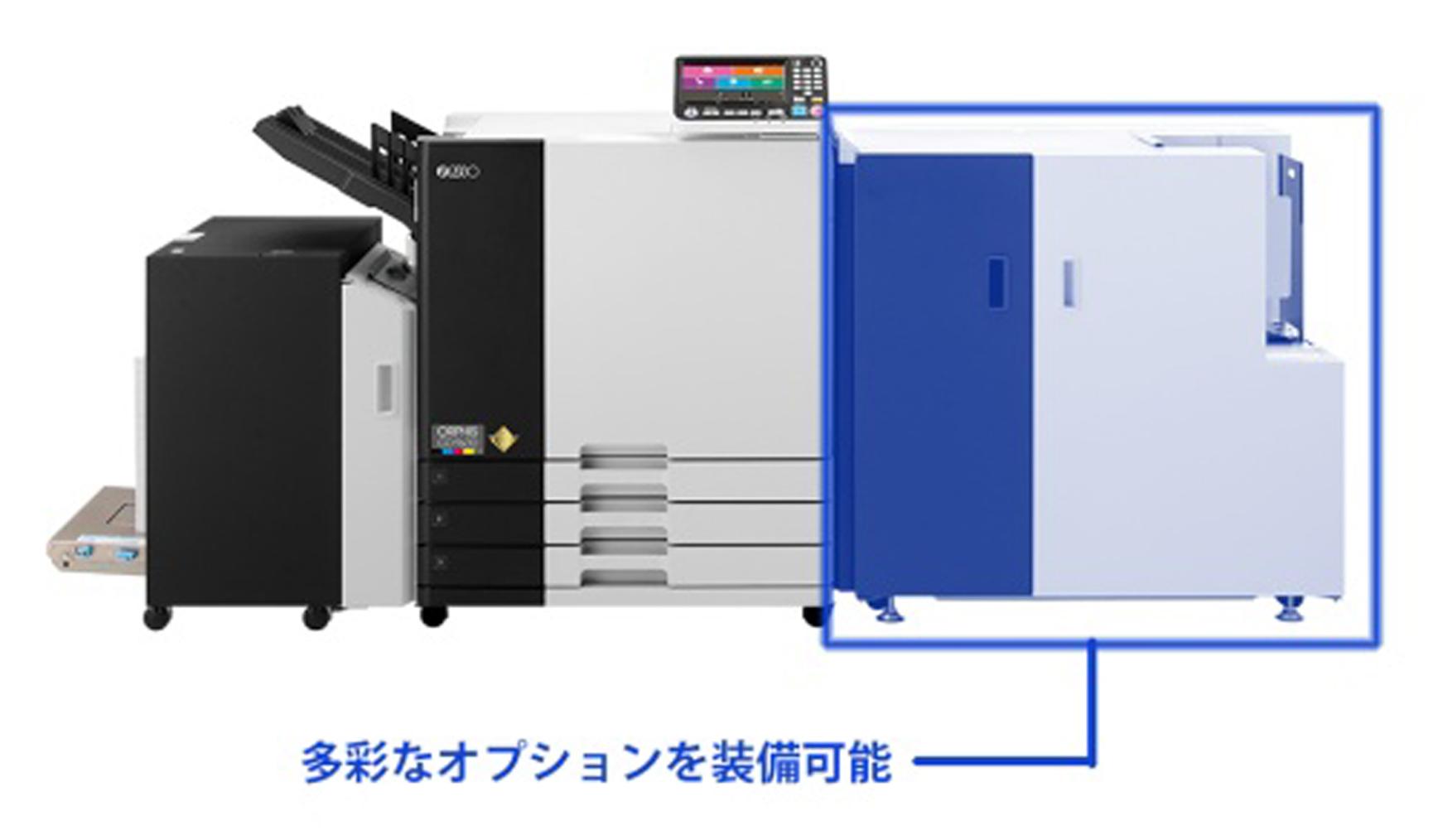 「ORPHIS GD9630 PREMIUM」は、多彩なオプションが特長