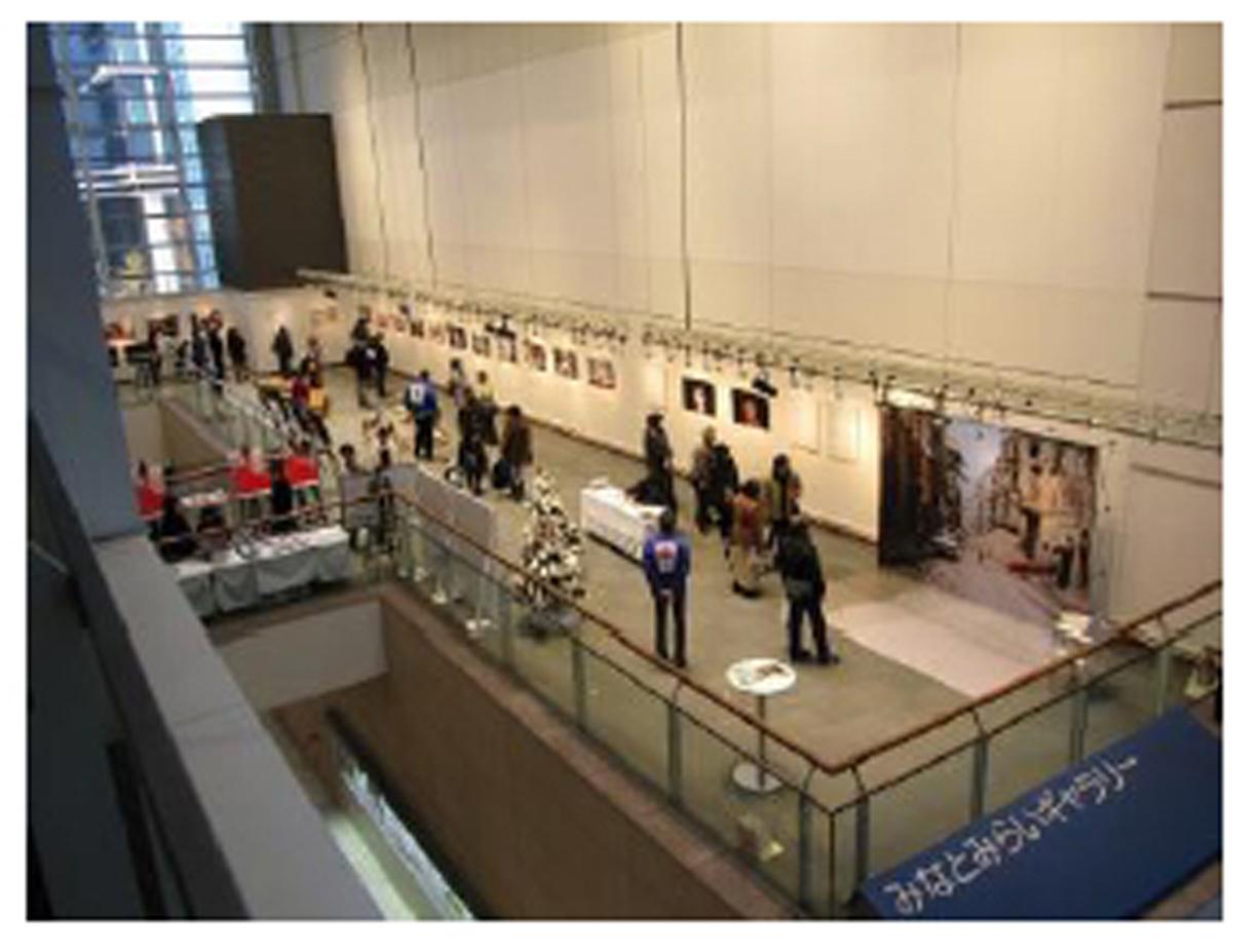 2017年の展示会場