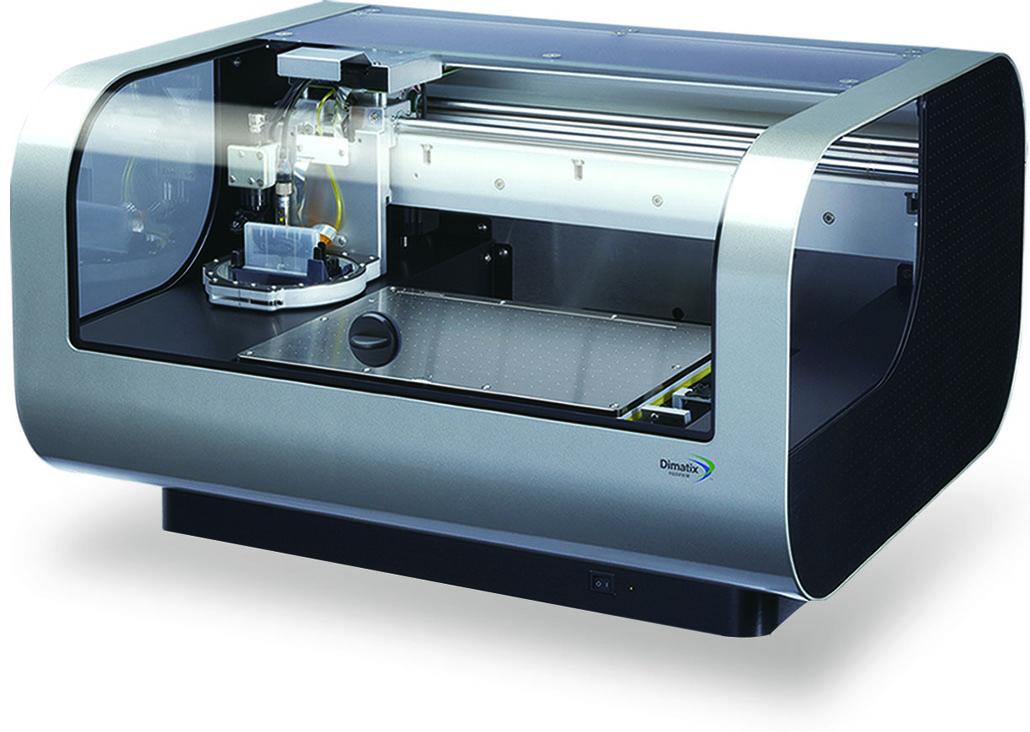 研究開発用インクジェット装置 マテリアルプリンター DMP-2850
