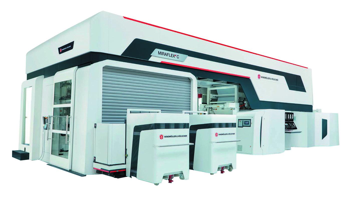 "CI型高速フレキソ印刷機 W&H MIRAFLEX"" C"