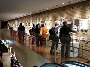 受賞作品展示スペース