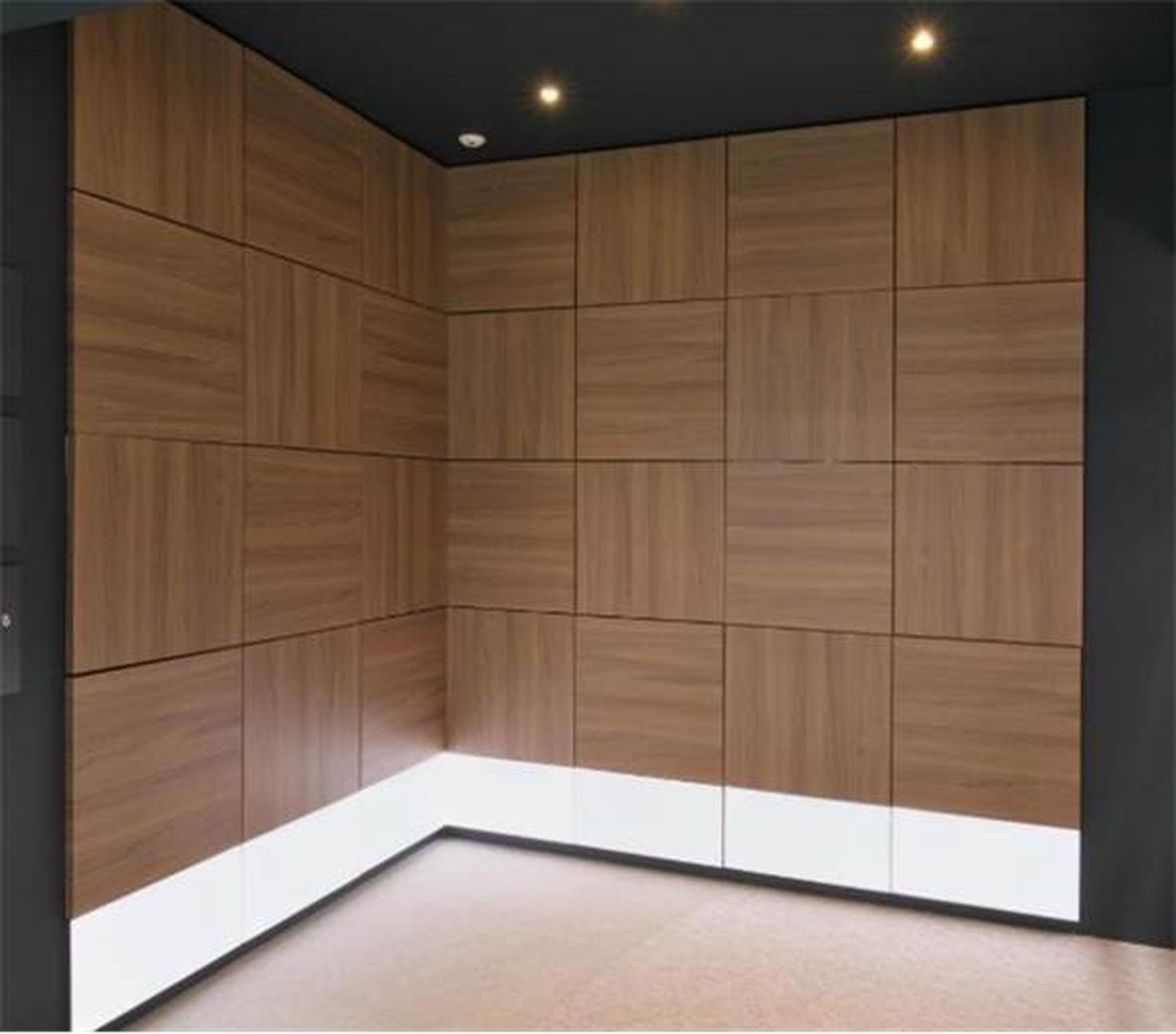 スピーカー一体型壁装材で構成した室内空間の例