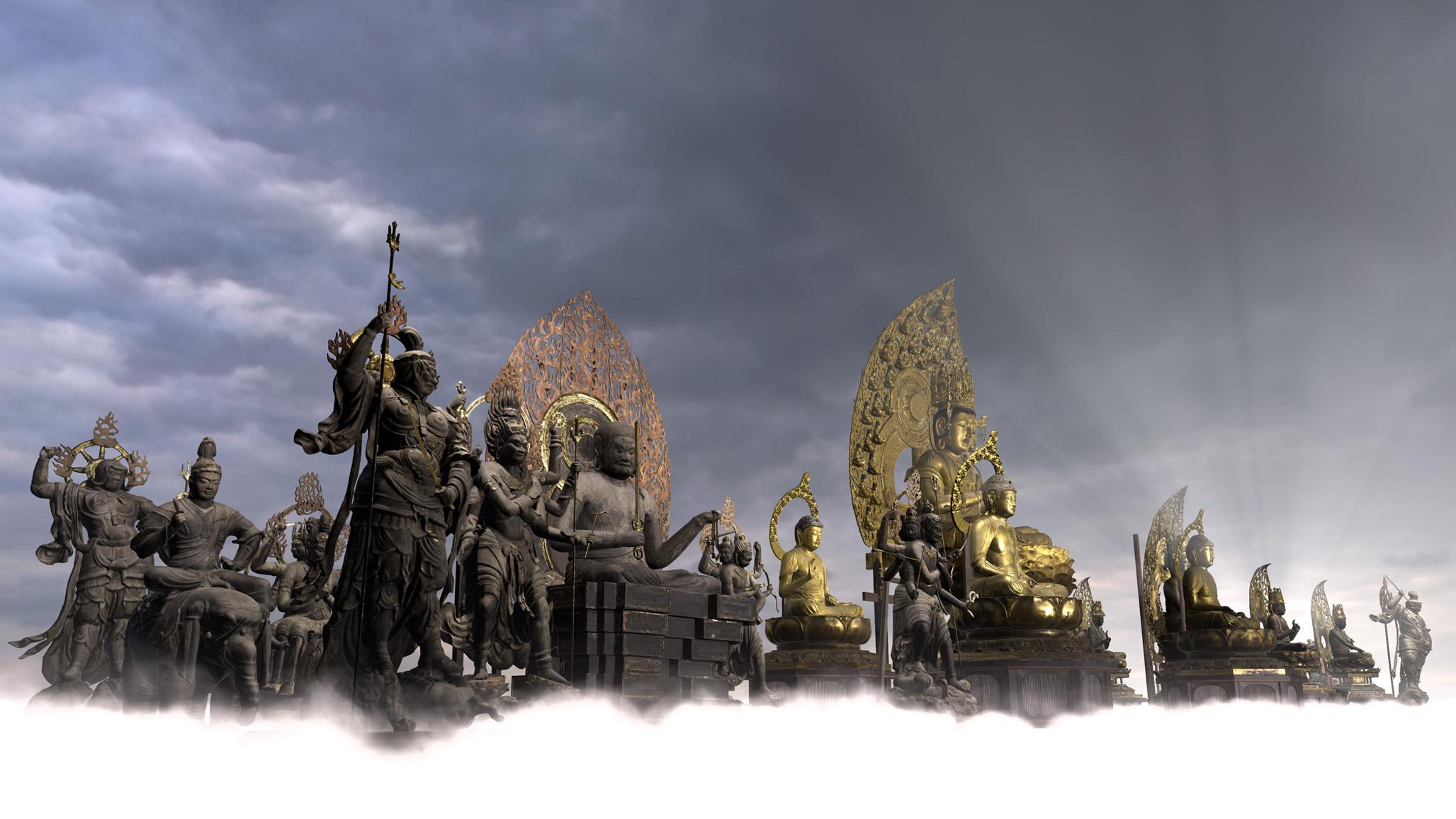 VR作品『空海 祈りの形』(監修:東京国立博物館、 真言宗総本山 教王護国寺(東寺) 制作:凸版印刷株式会社)