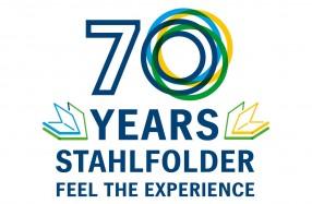 スタールフォルダー誕生70周年記念ロゴ