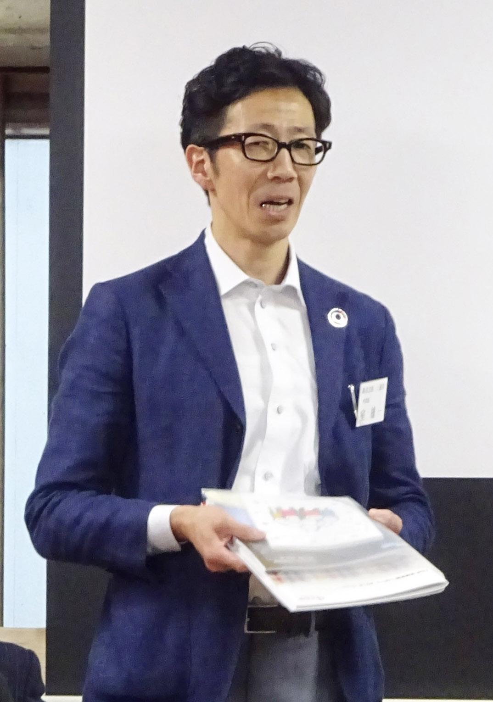 LIMEXシートについて解説する三進社・室氏