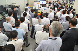RMGTの生産効率向上の発表会