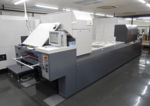 加藤文明社ではJet Press 720Sをフロアのイメージにあわせた色で特注