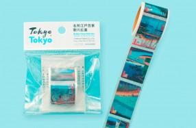 歌川広重 浮世絵テープ_キャッチ