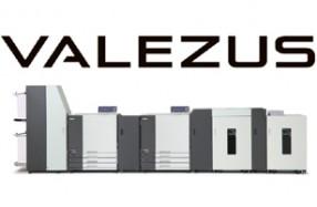 新ブランド「VALEZUS」のロゴと毎分320ページの高速カット紙プリンター『VALEZUS T2100』