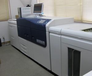 富士ゼロックスのデジタル印刷機