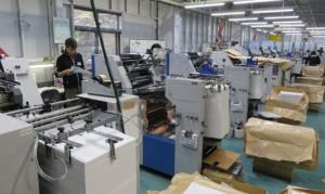 モノクロ特化の印刷工場
