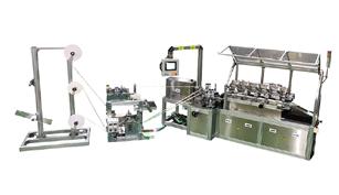 ミヤコシの紙ストロー生産機