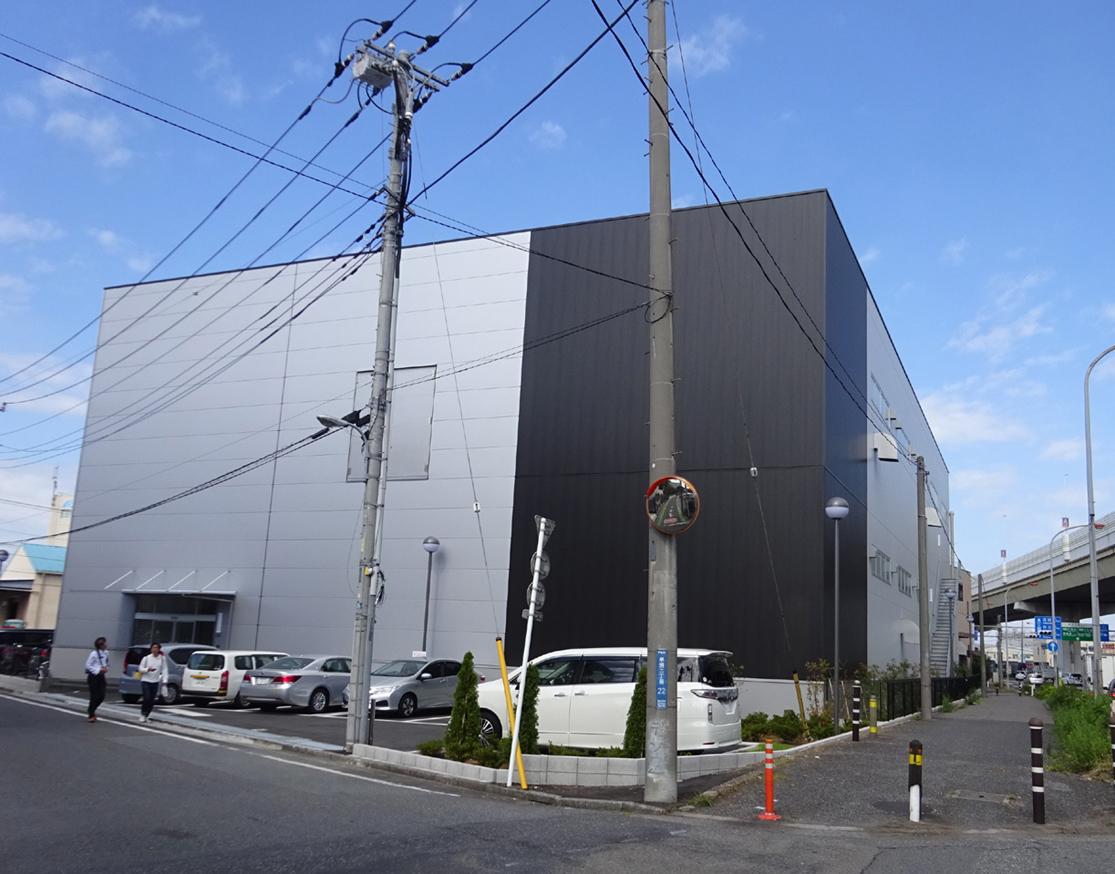 竣工したマコト印刷戸田工場