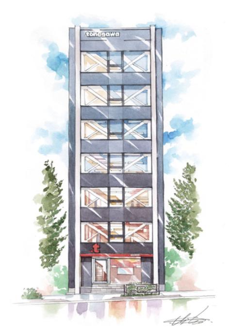 TONEGAWAの新オフィスの入っているビル