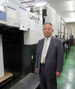 COOL UV搭載のJP40と橋本社長