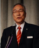 講演するRMGTの広川社長
