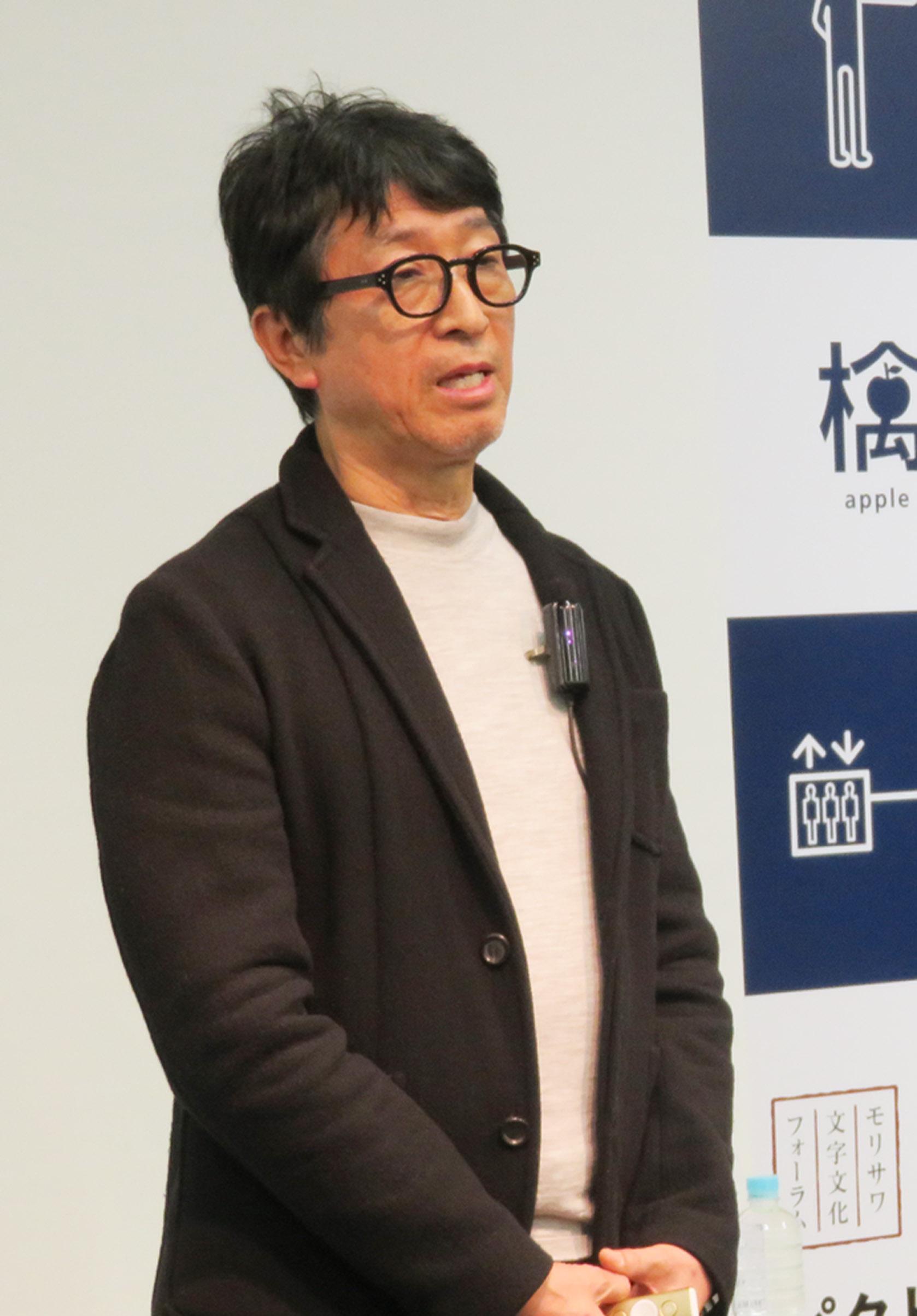ピクトグラムを語る廣村氏